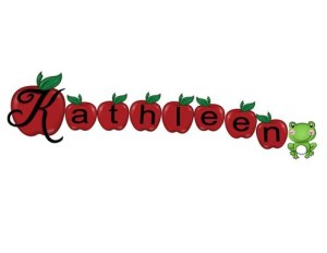 Kathleen in 8 Apples
