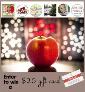 $25 TpT Gift Card Giveaway An Apple for the Teacher May 21 2016