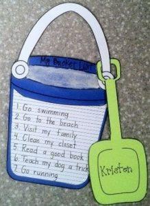 Year End Bucket List