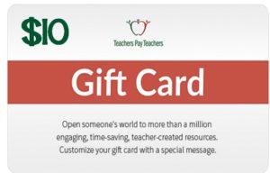 $10 TpT Gift Card